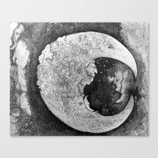 Goodnight Little Man Canvas Print