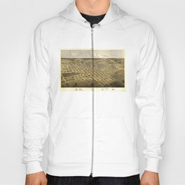 Aerial View of Springfield, Illinois (1867) Hoody