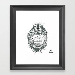 M B M Framed Art Print