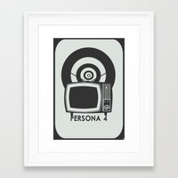 persona Framed Art Prints featuring Persona 4 by Alaska_