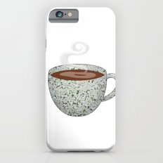 queen anne's lace tea cup - coffee cup series Slim Case iPhone 6s