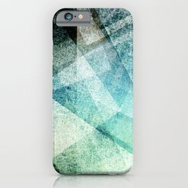 Geometric fractal iPhone Case