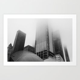Lost in the Mists -3 New York 2018 Art Print