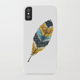 Starlight Feather iPhone Case