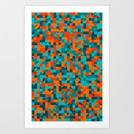 Bushfire Art Print