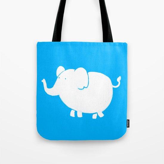 White Elephant  Tote Bag
