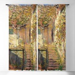 """Claude Monet """"L'escalier"""" (""""The staircase"""")(1878) Blackout Curtain"""