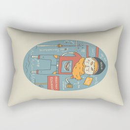 Berliner Kind Rectangular Pillow