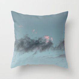 Lost | sky photography Throw Pillow