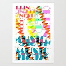 NEEDMusic Art Print
