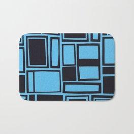 Windows & Frames - Blue Bath Mat