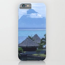 Romantic Vacation in Exotic French Polynesia iPhone Case