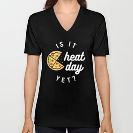 Is It Cheat Day Yet? (Pizza) Unisex V-Neck