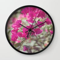 coldplay Wall Clocks featuring Fix You by Carol Knudsen Photographic Artist