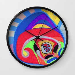 Peng-Compass  2 Wall Clock