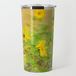 autumn flowers Travel Mug