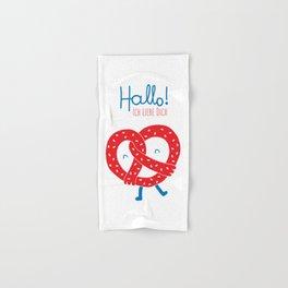 Ich Liebe Dich Hand & Bath Towel