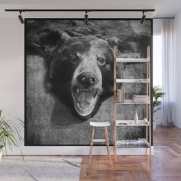 the bear Wall Mural