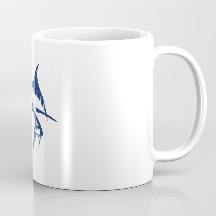 Graphic Blue Marlin Coffee Mug