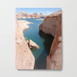 Gunsight Canyon Metal Print