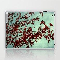 autumn red Laptop & iPad Skin