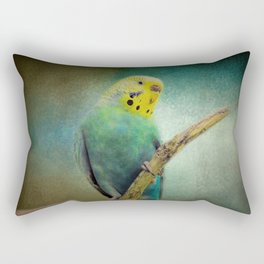 The Budgie Collection - Budgie 1 Rectangular Pillow