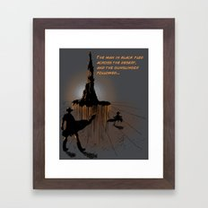 Roland's Quest Framed Art Print