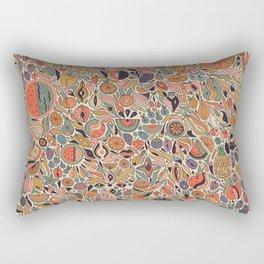 Fruits Chart Rectangular Pillow