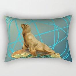 Apatite Sea Lion Rectangular Pillow