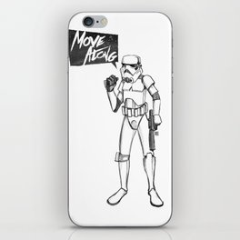 Move Along - Stormtrooper iPhone Skin
