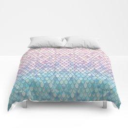 Spring Mermaid Scales Comforters