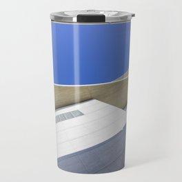 architectural detail of modern building Travel Mug