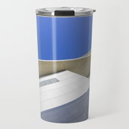 architectural detail of modern building Travel Mug