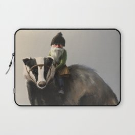 Gnome on Badger Laptop Sleeve