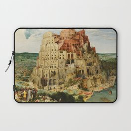 The Tower of Babel 1563 Laptop Sleeve