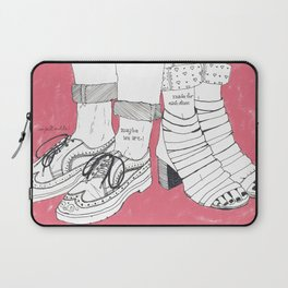 We are made for each other. Laptop Sleeve