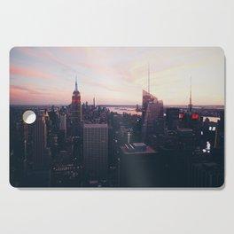NYC Sky Cutting Board