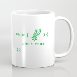 while(spurs) Coffee Mug