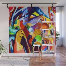 Wassily Kandinsky Improvisation XIX Wall Mural