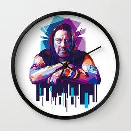 Hard-Boiled Trejo Wall Clock
