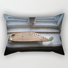 A Karelian 10-string Kantele Rectangular Pillow