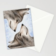 Eastern Wolf Stationery Cards