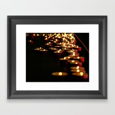 Candles for the Madonna Framed Art Print