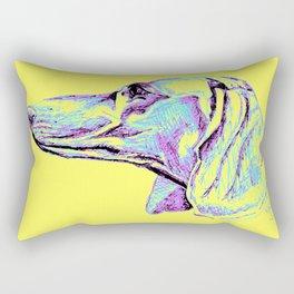 Dackel-Pop Rectangular Pillow
