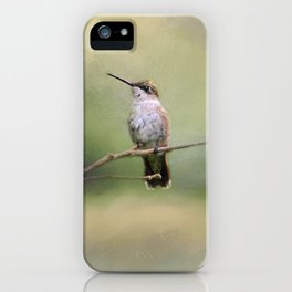 Tiny Visitor iPhone Case