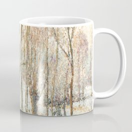 "Camille Pissarro ""Morning Sunlight on the Snow, Éragny-sur-Epte"" Coffee Mug"