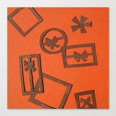 Ermay Papercut Canvas Print