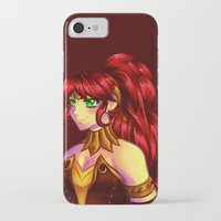 rwby iPhone & iPod Cases featuring The Champion by nerdgasmz