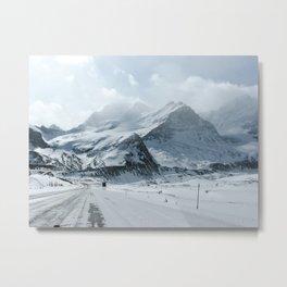 Icefield Metal Print