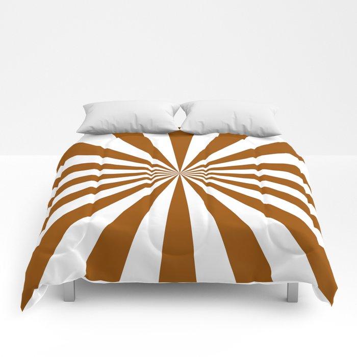 Starburst (Brown/White) Comforters